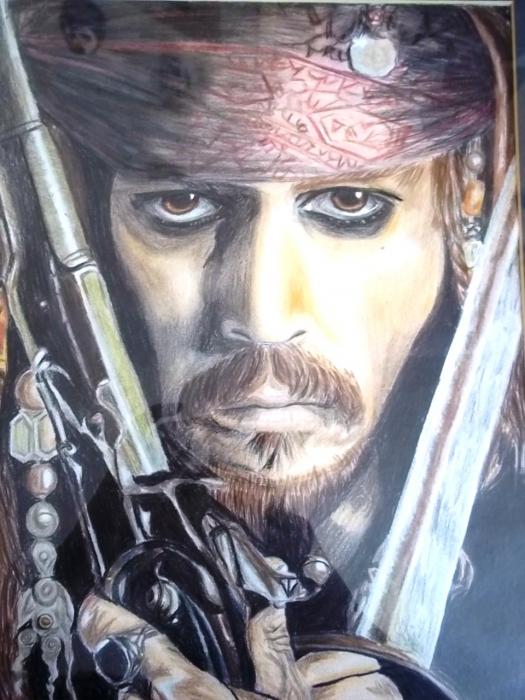 Johnny Depp by flaiss